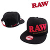 RAW Snap Back Black Hat-I Smoke Fresh, online smoke shop.