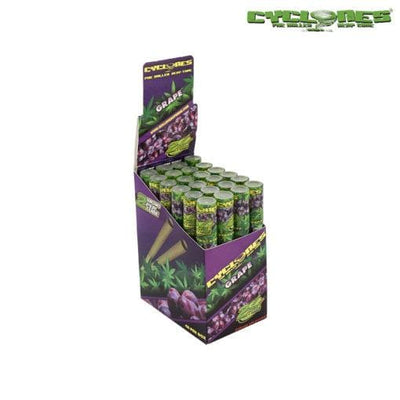 Cyclones Hemp Wraps – Grape - ISmokeFresh online smoke shop