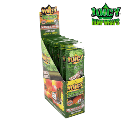 Juicy Hemp Wraps – Mango Papaya Twist