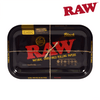 RAW Black Rolling Tray, Size Small-I Smoke Fresh, online smoke shop.