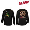 RAW Long Sleeve Black-I Smoke Fresh, online smoke shop.