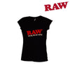 RAW Ladies V-neck Shirt-I Smoke Fresh, online smoke shop.