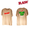 RAW Organic Tan Men Shirt-I Smoke Fresh, online smoke shop.