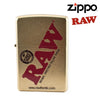 Zippo Lighter – RAW Gold-I Smoke Fresh, online smoke shop.
