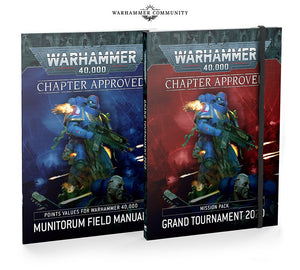 40k- Chapter Approved: Grand Tournament 2020 Mission Pack and Munitorum Field Manual