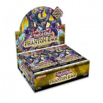 YGO - Phantom Rage - Booster Display