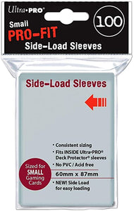 UP - Pro-Fit Side Load Deck Protector Sleeves SMALL (100)