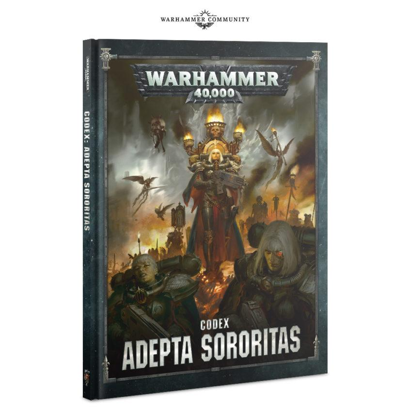 40 K Adepta Sororitas Codex