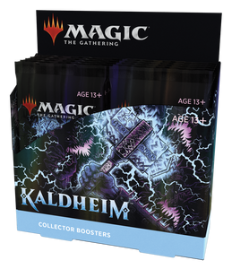 MTG - Kaldheim Collector Booster Display