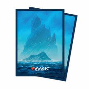 UP - Unstable deck protectors Island(100)