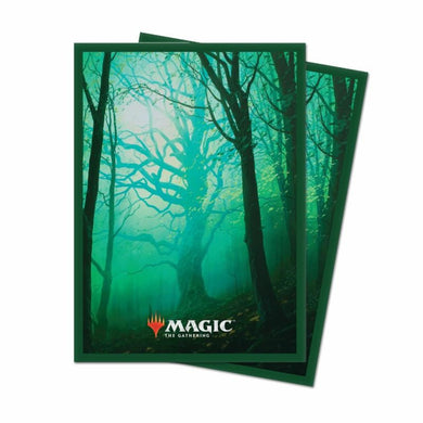 UP - Unstable deck protectors Forest(100)