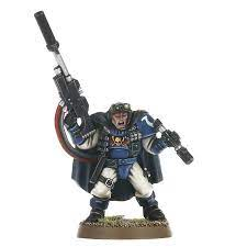 Warhammer 40k - Space Marines - Scouts with Sniper Rifles