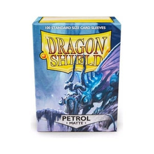 Dragon Shields 100 Matte Petrol