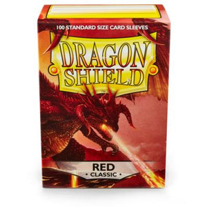 Dragon Shield 100 Matte  Red