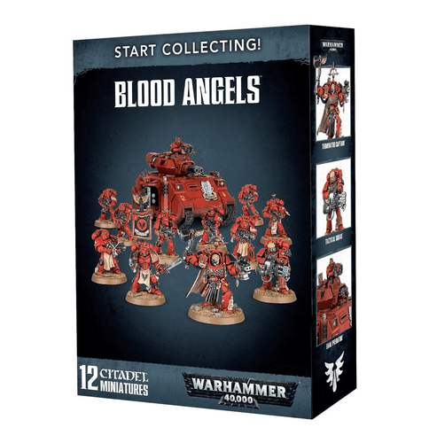 40K Start Collecting - Blood Angels