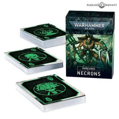 40K - DATACARDS: NECRONS (ENGLISH)