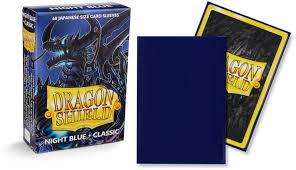 Dragon shield Night Blue classic JAPANESE SIZE