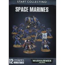 40K - Start Collecting Space Marines