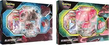 PKM: Venusaur/Blastoise VMAX Battle Box
