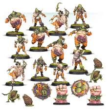 BLOOD BOWL :  Nurgle's Rotters - Nurgle Blood Bowl Team