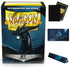 Dragon Shield 100 Matte Jet