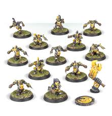 BLOOD BOWL :  The Scarcrag Snivellers - Goblin Blood Bowl Team