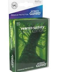 UG - Printed Sleeves Standard Size Lands Edition Forest I (80)