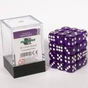 BlackFire - 36 Dice Purple