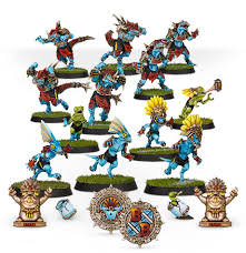 BLOOD BOWL :  Gwaka'moli Crater Gators - Lizardmen Blood Bowl Team