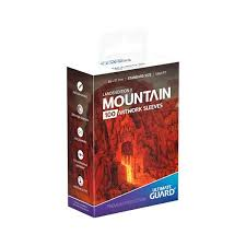 UG - Printed Sleeves Standard Size Lands Edition Mountain I (80)