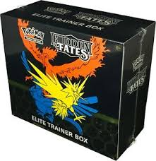 PKM: Hidden Fates Elite Trainer Box REPRINT