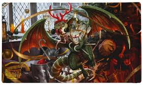 Dragon Shield Playmat - Christmas Dragon 2020