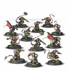BLOOD BOWL :  The Skavenblight Scramblers - Skaven Blood Bowl Team