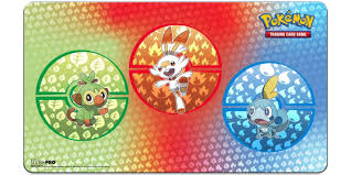 UP - Playmat - Pokémon Sword and Shield Galar Starters