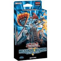 YGO - Structure Deck Display - Mechanized Madness - EN