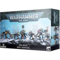 Warhammer 40K - Space Wolves - Grey Hunters