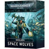 Warhammer 40K - Space Wolves - Datacards