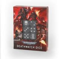 Warhammer 40K - Deathwatch Dice Set