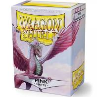 Dragon Shield 100 Matte Pink