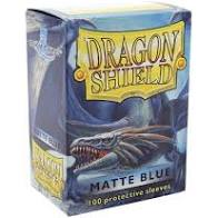 Dragon Shield Blue Matte Sleeves