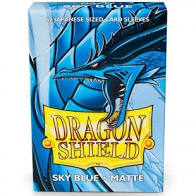 Dragon Shield Matte Sky Blue JAPANESE size