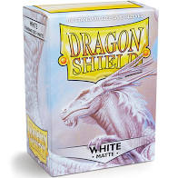 Dragon shield White Matte