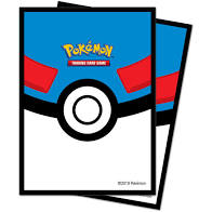 UP - Standard Sleeves Pokémon - Great Ball (65 Sleeves)