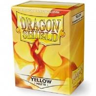 Dragon Shield 100 Matte Yellow