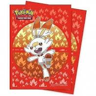 PKM - Sword and Shield Galar Starters Scorbunny (65 Sleeves)