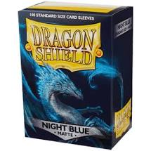 Dragon Shield 100 Matte Night Blue