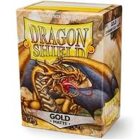 Dragon Shield 100 Matte Gold