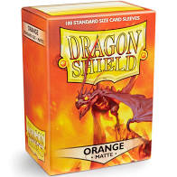 Dragon Shield 100 Matte Orange