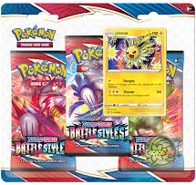 Pokemon - Sword & Shield  5 - Battle Styles - 3 Pack Booster