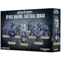 40k Space Marine Tactical Squad